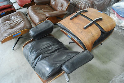 Herman Miller Eames Chair Repair That Unfolds Into A Bed Classic Design: Restorations And Repairs