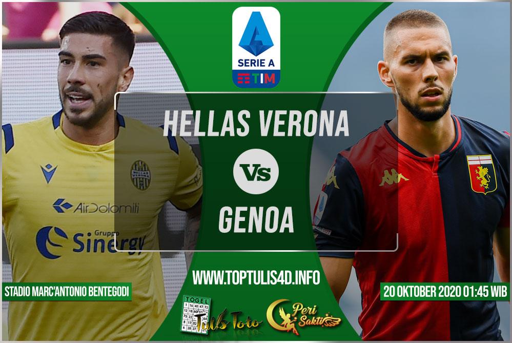 Prediksi Hellas Verona vs Genoa 20 Oktober 2020
