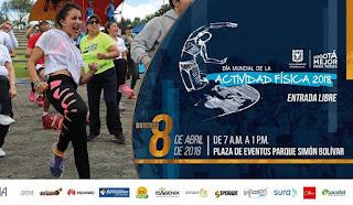 Día Mundial de la Actividad Fisica 2018 en Bogotá