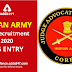 Indian Army SSC Recruitment 2020: JAG Entry