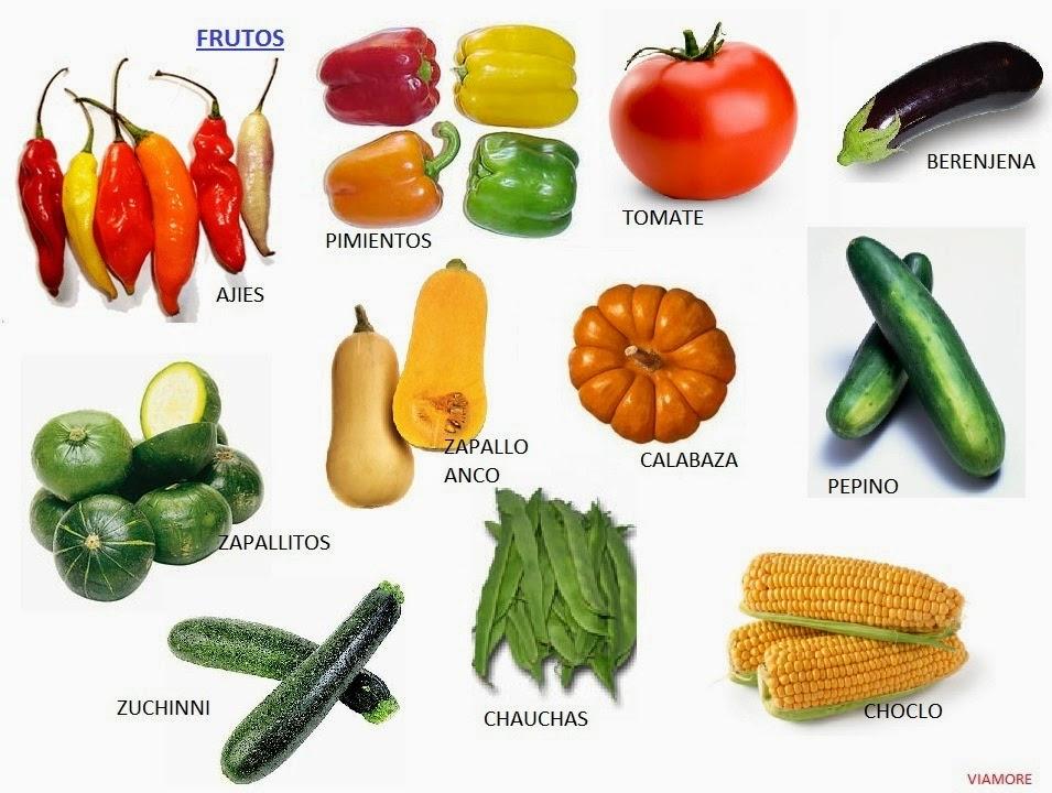 Resultado de imagen para hortalizas de FRUTO comestible
