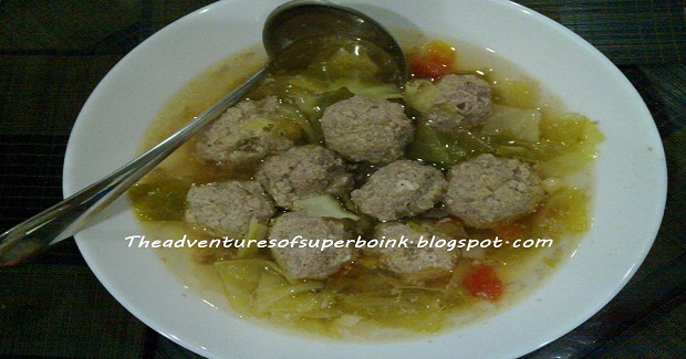 Cabbage And Meatballs Soup Recipe