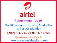 Career in Airtel