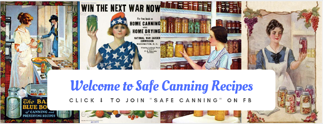 Safe Canning Recipes