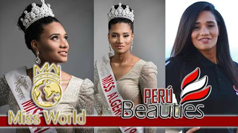 Khadidja Benhamou es Miss World Algeria 2019