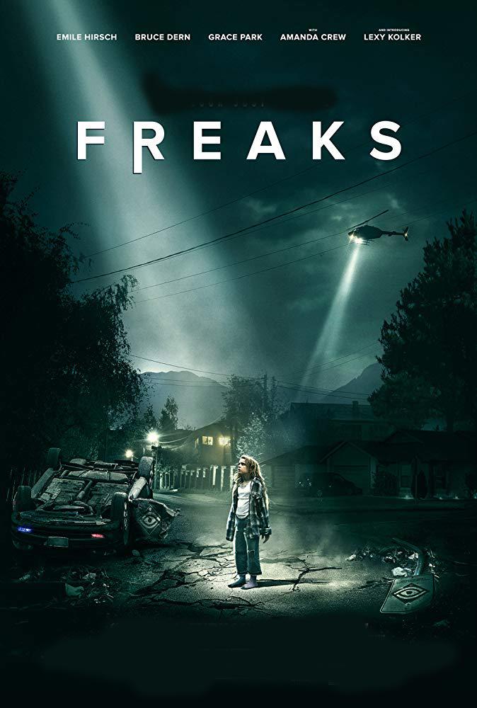 Freaks [2018] [DVDR] [NTSC] [Latino]