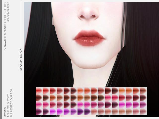 Lipstick, губная помада для Sims 4, косметика для Sims 4,, макияж для Sims 4,губы для Sims 4, внешность для Sims 4, красота для Sims 4,для женщин для Sims 4, для мужчин для Sims 4, для The Sims 4,