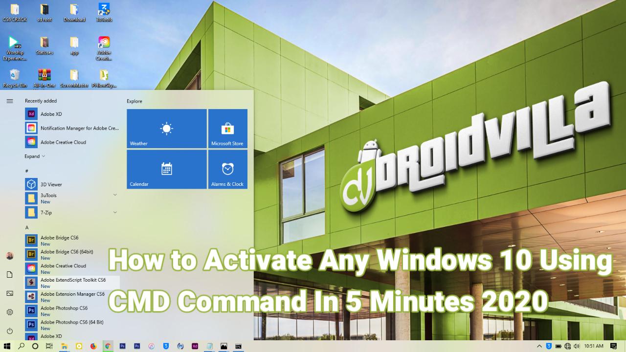 Activate windows 10 free