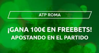 Mondobets promo ATP ROMA desde 14-9-2020
