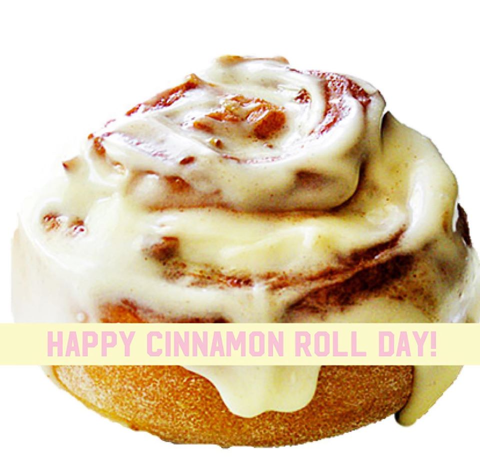 National Cinnamon Roll Day Wishes For Facebook