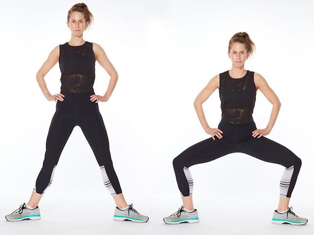 Open squat