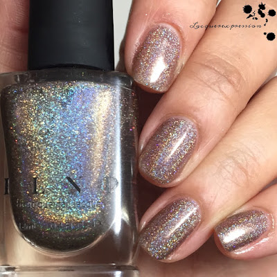 nail polish swatch of mona lisa by ilnp