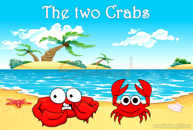 Truyện ngắn song ngữ Anh-Việt: Hai con cua (the two crabs)