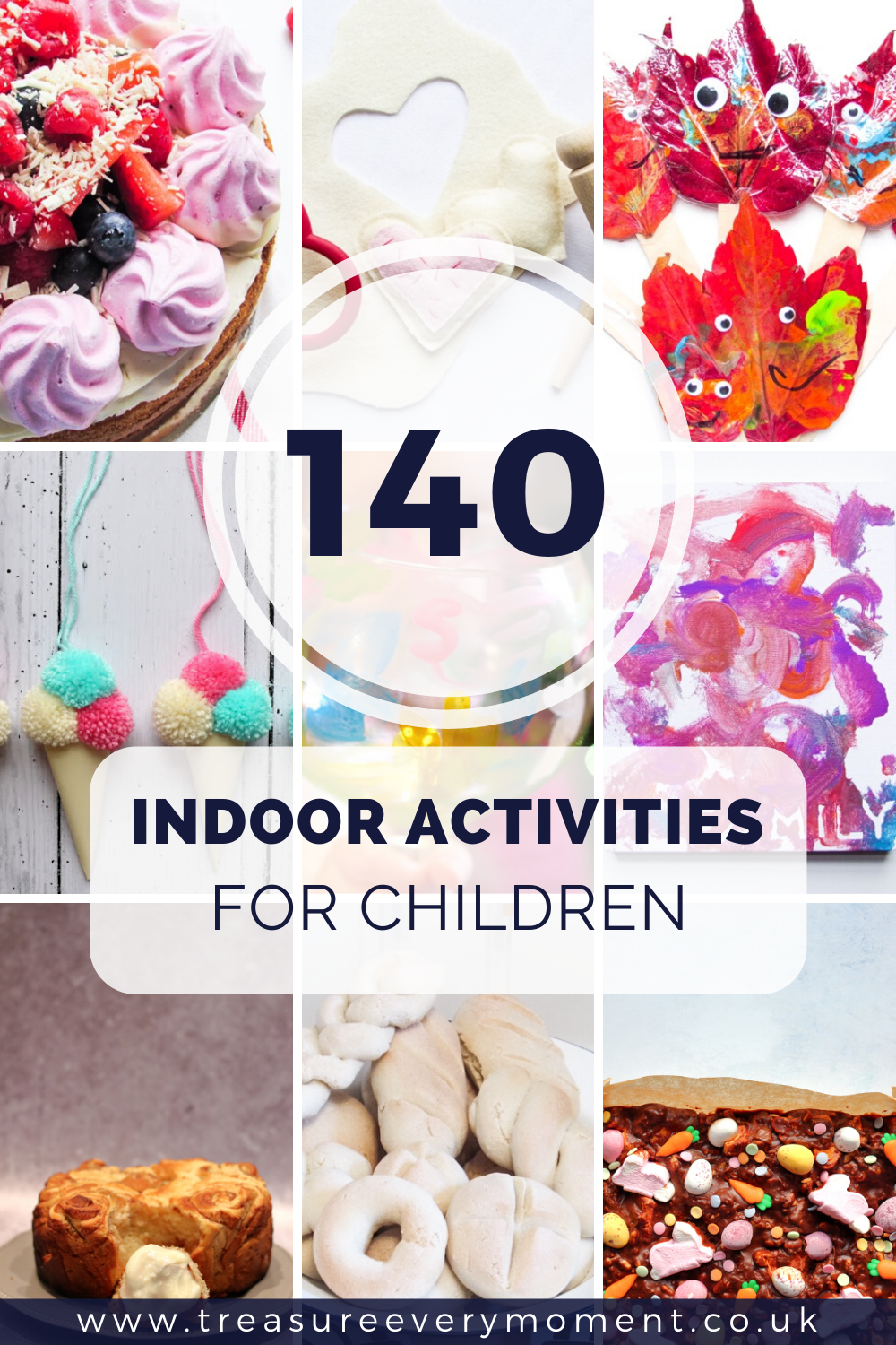 CHILDREN: 140 Indoor Activities for Hours of Entertainment