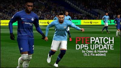 PES 2019 PTE Patch 2019 Datapack 5.1 Update by Cesc & Hawke