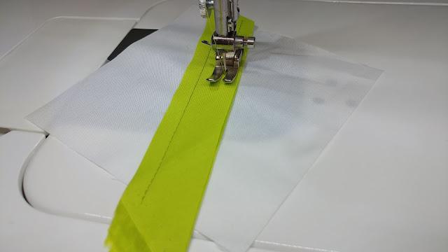 Sewing quilt blocks
