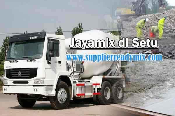 Harga Cor Beton Jayamix Setu Per M3 2021