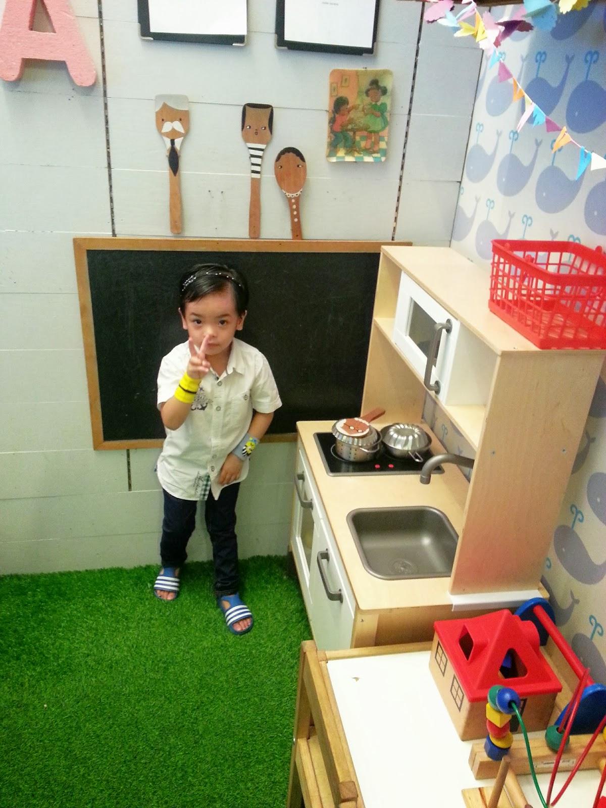 Siap Ade Dapur Mainan Yg Mcm Real Je