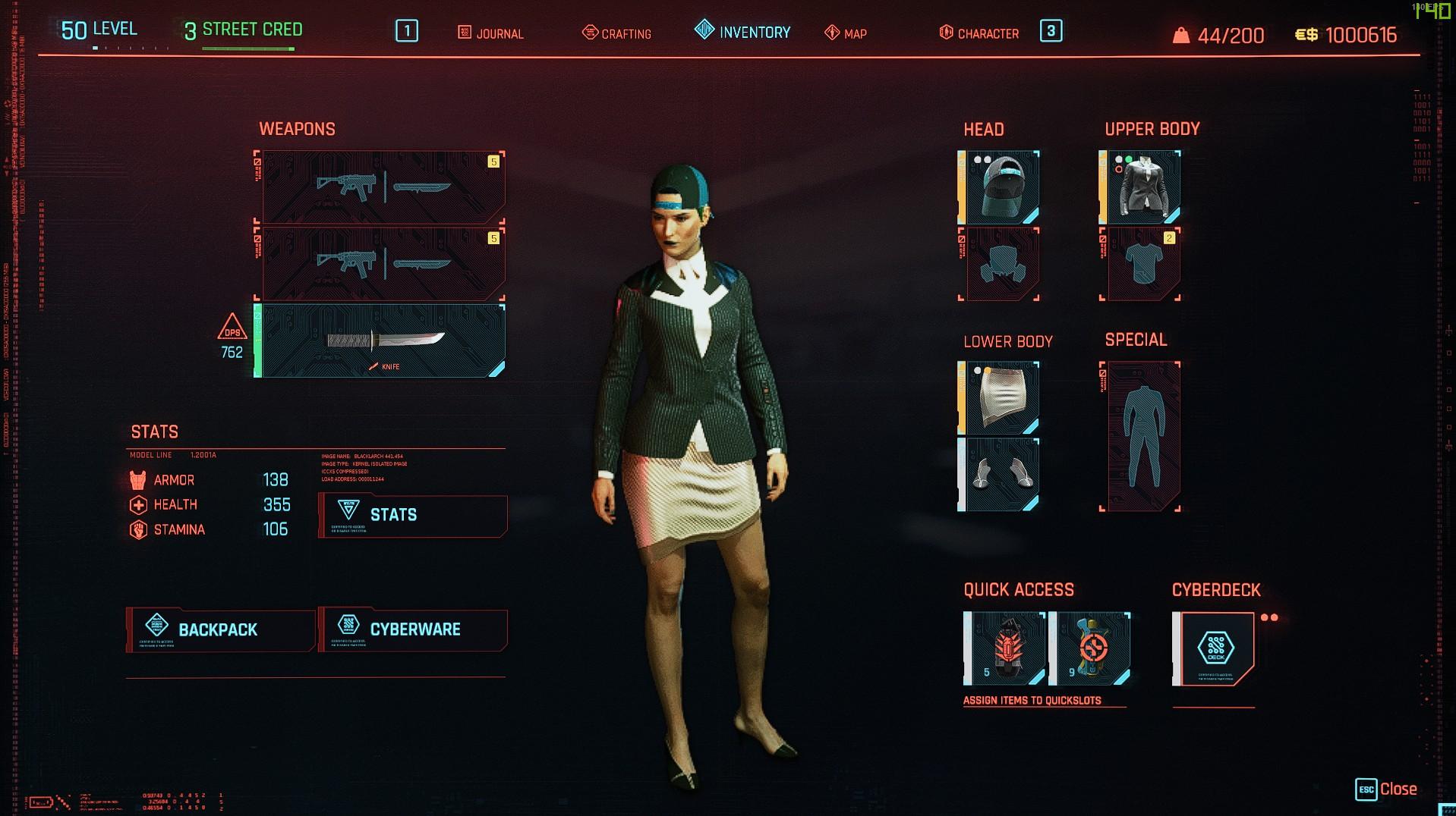 Cyberpunk 2077: Corpo level 50
