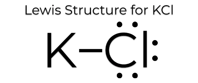 Lewis Dot Structure for KCl