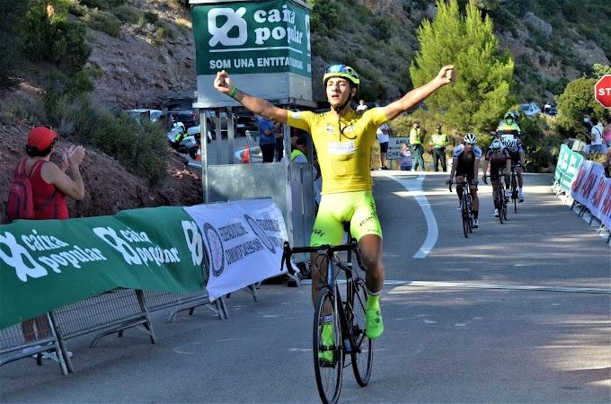 Mauricio Moreira (Vigo - Rías Baixas) ganó la Volta a Valencia