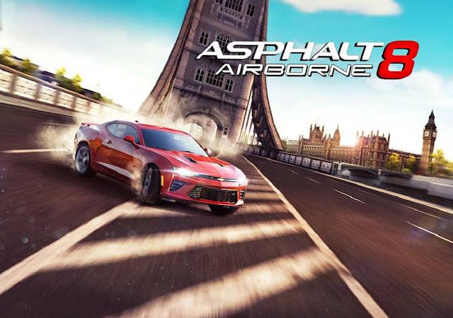 تنزيل لعبة سباق السيارات asphalt 8 اخر اصدار 2020