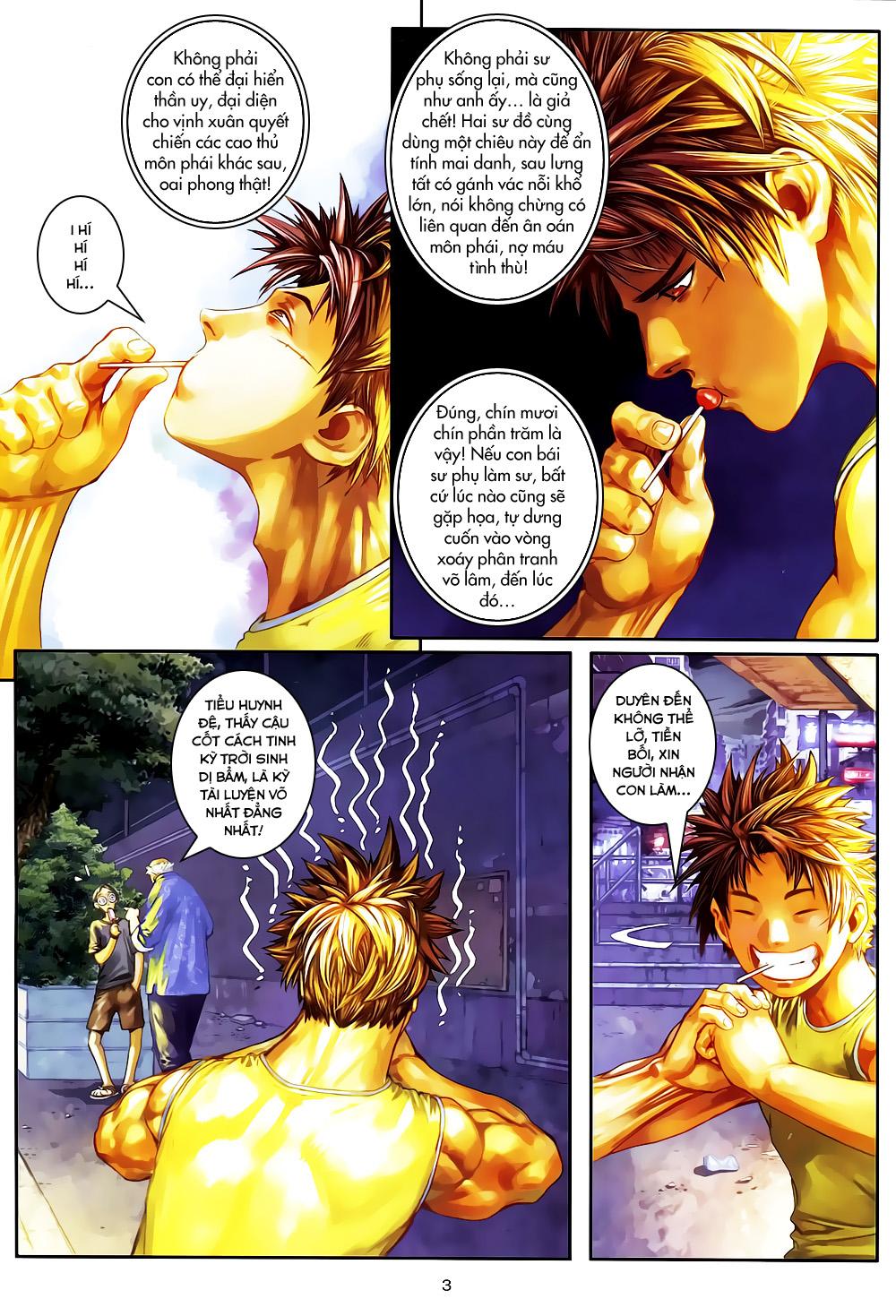 Quyền Đạo chapter 4 trang 3