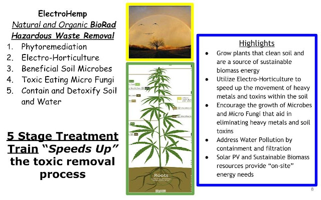 ElectroHemp Natural and Organic BioRad 5 Stage Treatment Train speeds up the Toxic Removal Process