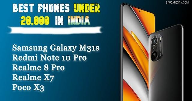 Best Phones Under 20000 In India