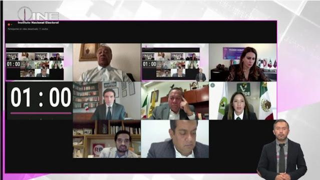 Realiza INE Primer Debate de Plataformas de los partidos políticos