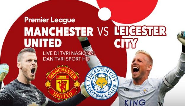 Jadwal Siaran Langsung Manchester United vs Leicester City