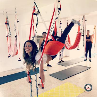 cours pilates aérien
