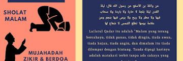 Selamat berburu Lailatul Qadar!