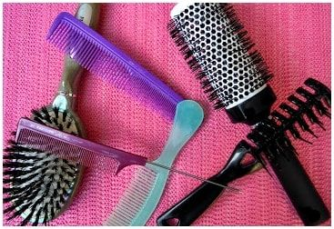 Différents types de brosses et peignes - Astuces blog beauté