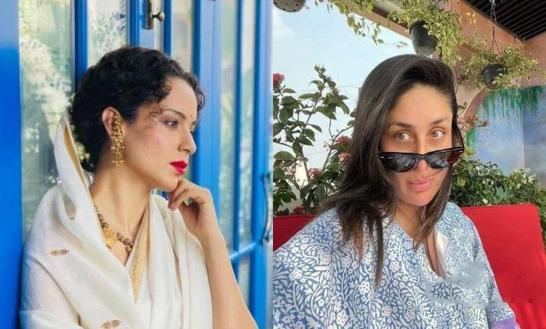 """Boycott Karina Kapoor Khan"" Success! Kangana Ranaut will play the role of Sita"