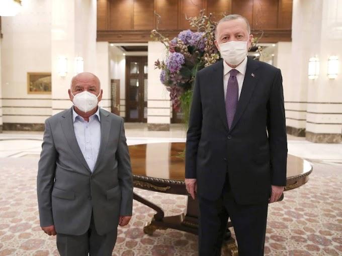 Bozkır'ın Gururu, Ahimiz Osman Kalay Cumhurbaşkanımızla İftarda buluştu