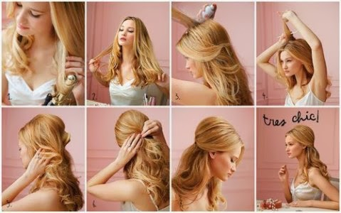 Christmas Hairstyles Easy.Easy Christmas Hairstyle Tutorials For Girls Girl Trends