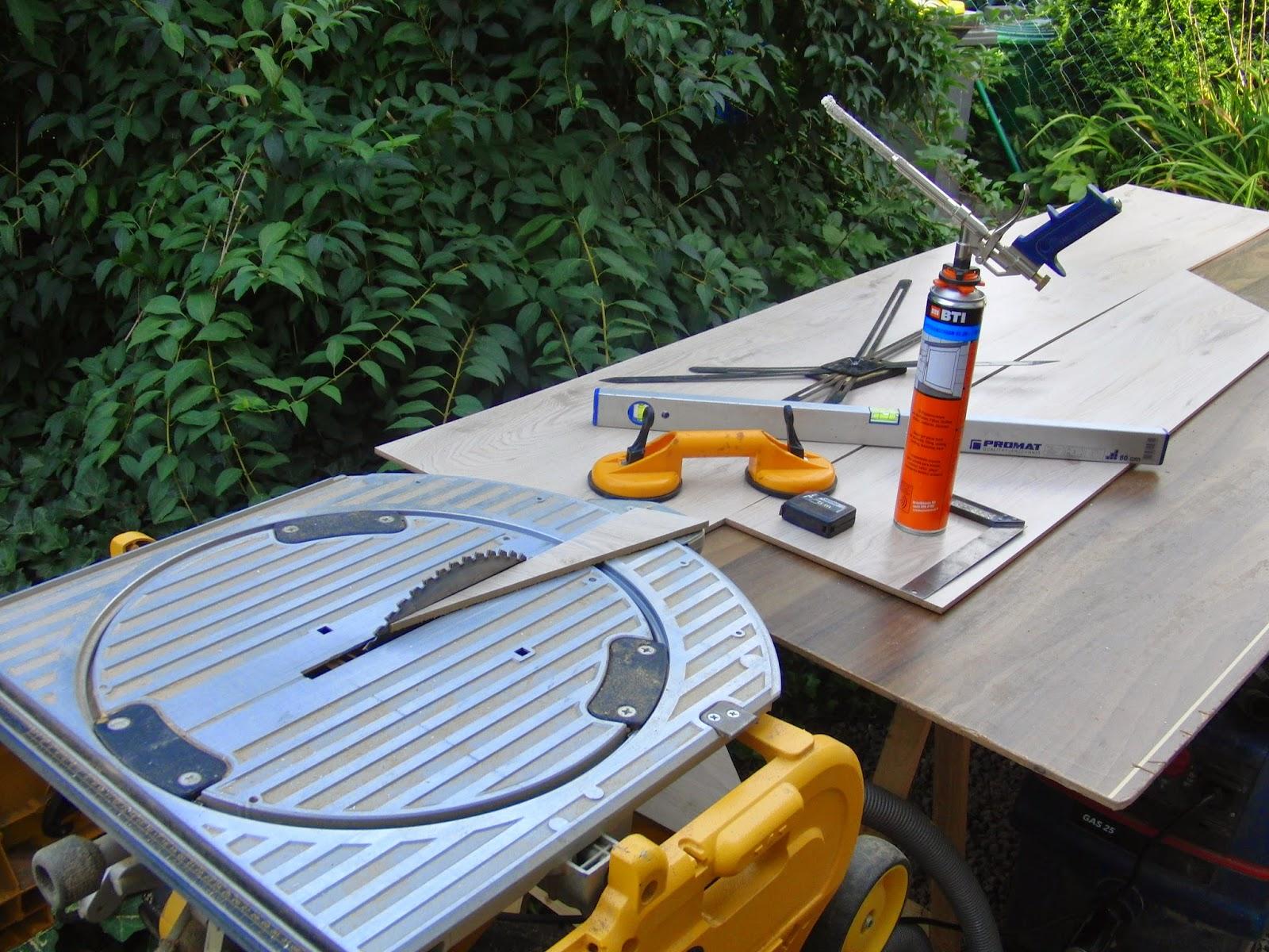 Treppe mit Laminat verkleiden - das passende Werkzeug