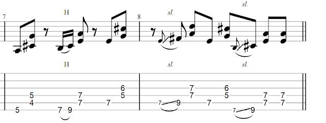 Sebastian Bluschke Country Blues Rhythmus 1B2