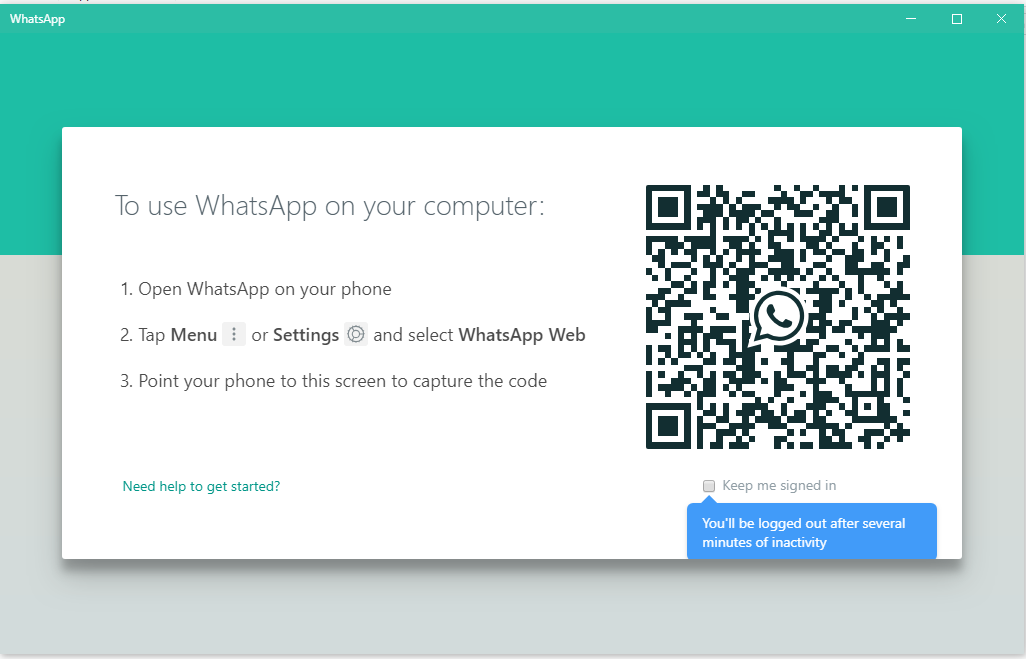 CARA LOGIN WHATSAPP DI PC WINDOWS