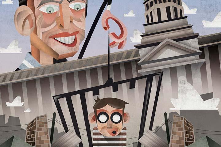 Ilustración, Niños presos Jones de Federico Nasute