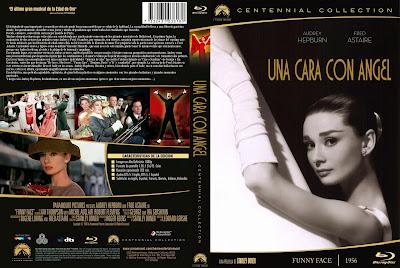 Carátula dvd: Una cara con ángel (1957) (Funny Face) / Descargar / Película / Online