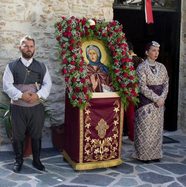 Τίμησαν τη μνήμης της Αγίας Σοφίας της Ποντίας στην Μεταμόρφωση