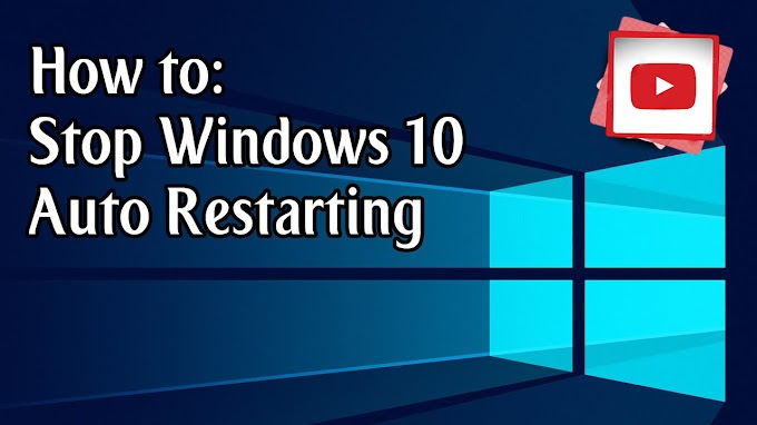 how to stop automatic restarts windows 10