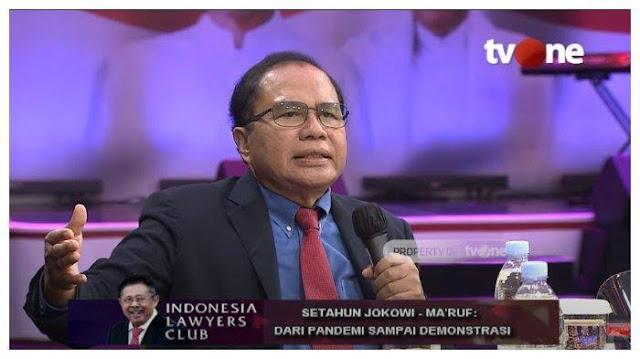 Rizal Ramli Kritik Polisi: Aktivis Diborgol, Taipan yang Brengsek-brengsek Tangannya Lepas, Apaan Ini?!