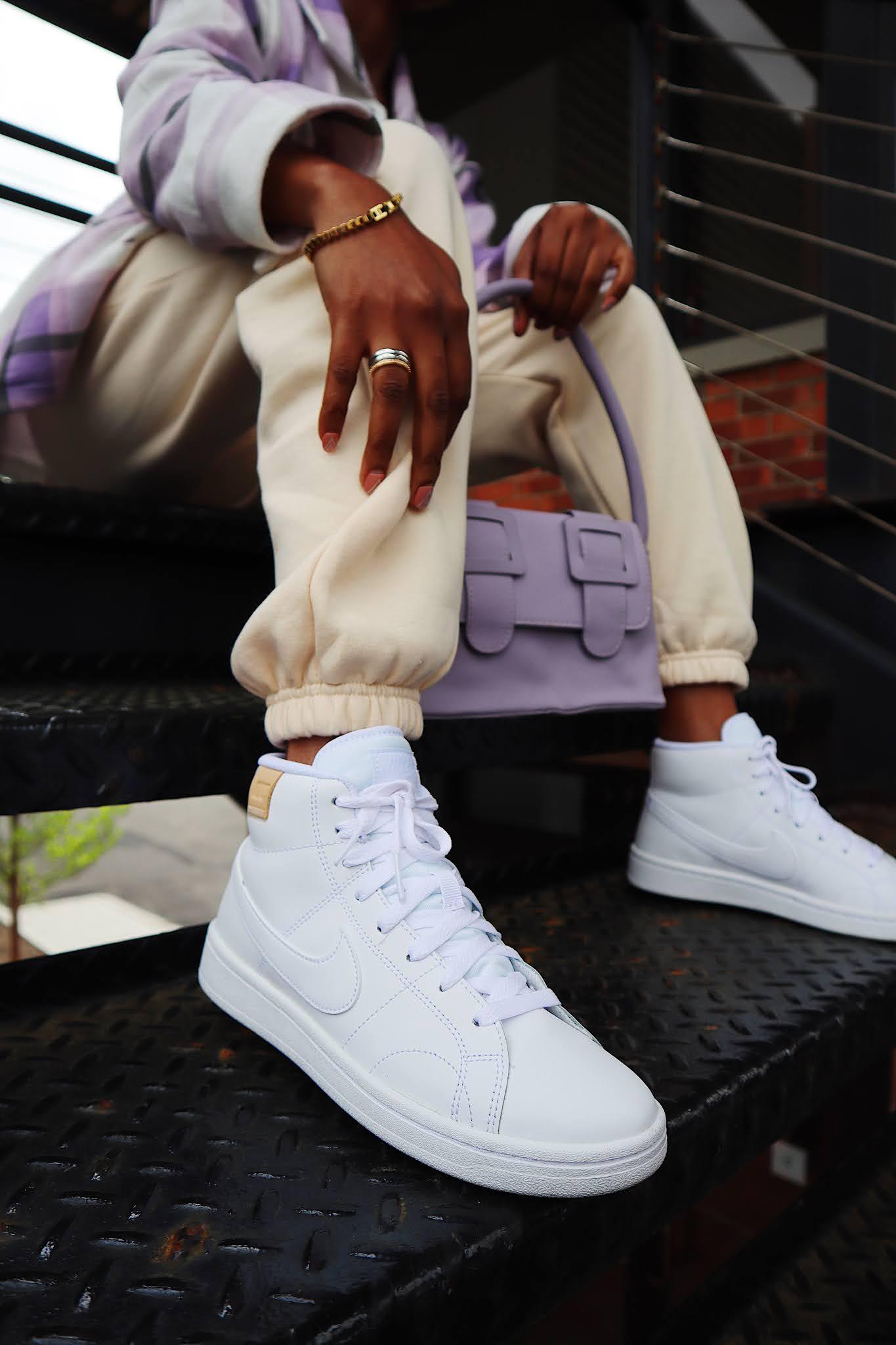 Nike women high top sneakers