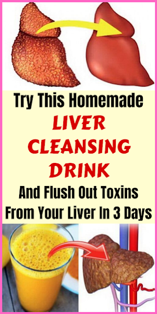 Try This Homemade Liver Cleansing Drink And Flush Out Toxins From Your Liver