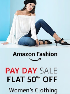 Amazon India Offer Get 50% off on Womens Wear