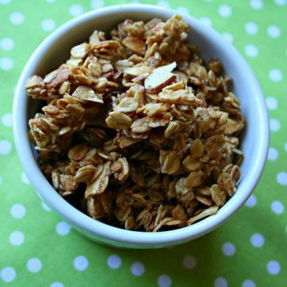 Peanut Butter Almond Granola