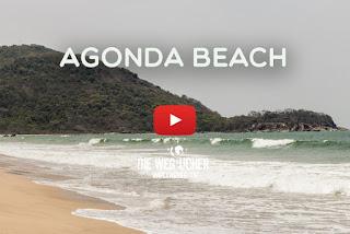 Agonda Beach Goa Indien Arkadijs Weltreise WELTREISE.TV